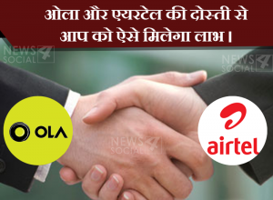 OLa and Airtel become partner